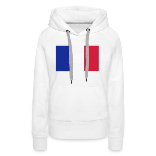 Französische Flagge - Frauen Premium Hoodie