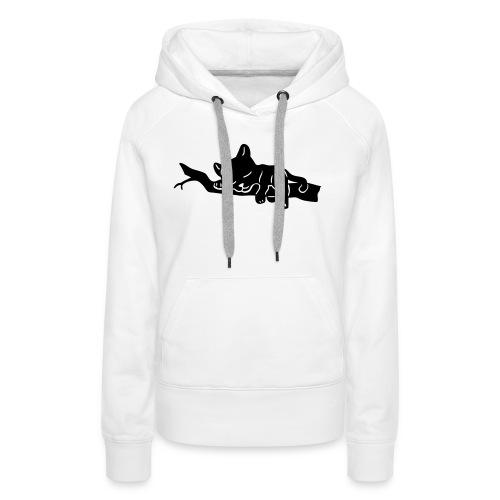 Sleeping Panther - Frauen Premium Hoodie
