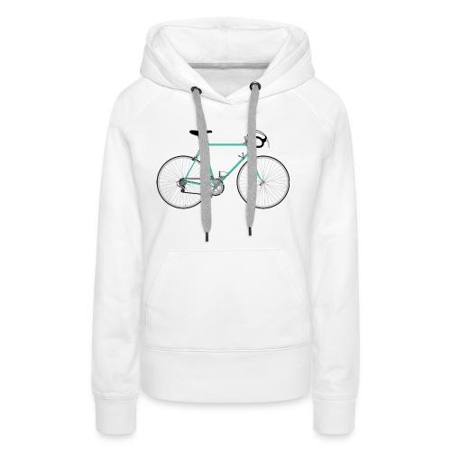 Rennrad für Hipster - Frauen Premium Hoodie