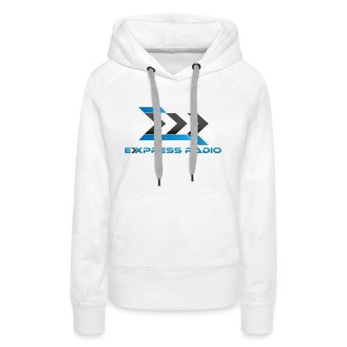 T-Shirt Express Radio - Sweat-shirt à capuche Premium pour femmes