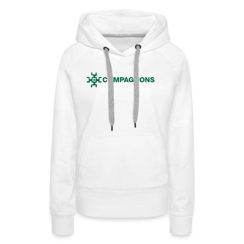 Branche Compagnons - Sweat-shirt à capuche Premium pour femmes