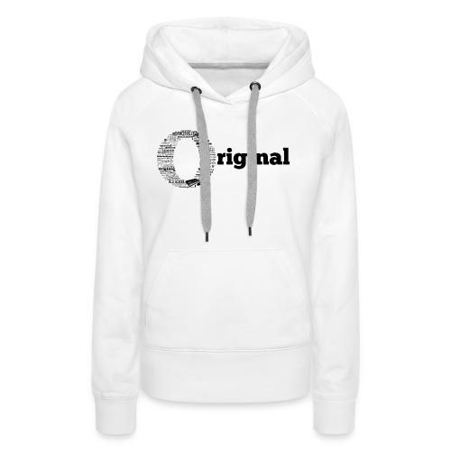 original grey - Women's Premium Hoodie