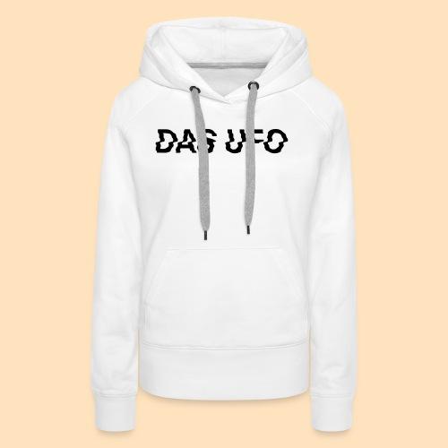 DAS UFO // Typography - Frauen Premium Hoodie