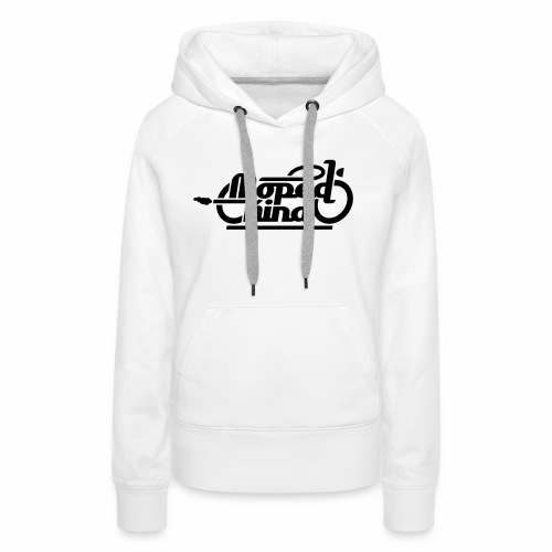 Moped Kind / Mopedkind (V1.0) - Women's Premium Hoodie