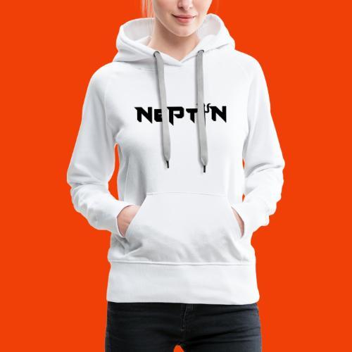 LOGO NEPTUN - Sudadera con capucha premium para mujer