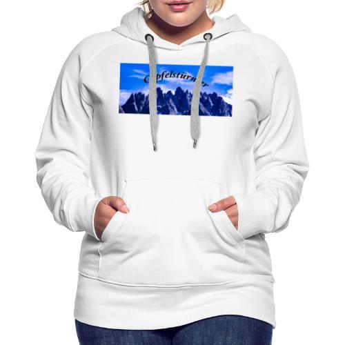 Dolomitenpanorama - Frauen Premium Hoodie