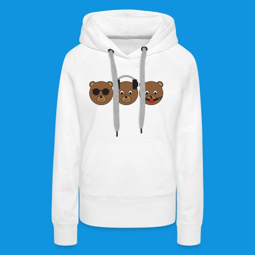 3 Wise Bears - Women's Premium Hoodie