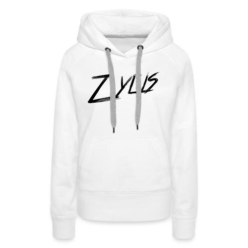 zylus logo 1 - Women's Premium Hoodie