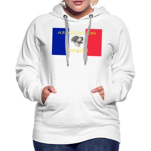 EnergyFR - Sweat-shirt à capuche Premium pour femmes