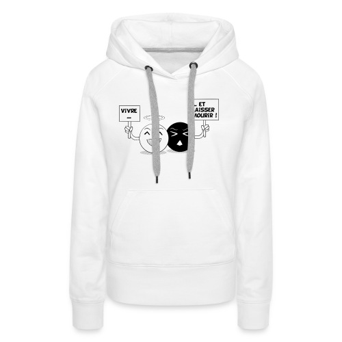 T-shirt Graug - Sweat-shirt à capuche Premium pour femmes