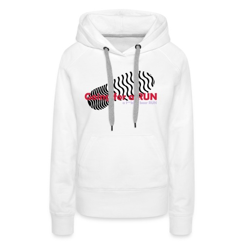 Going for a run - Women's Premium Hoodie