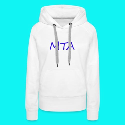 #MTA t-shirts - Dame Premium hættetrøje