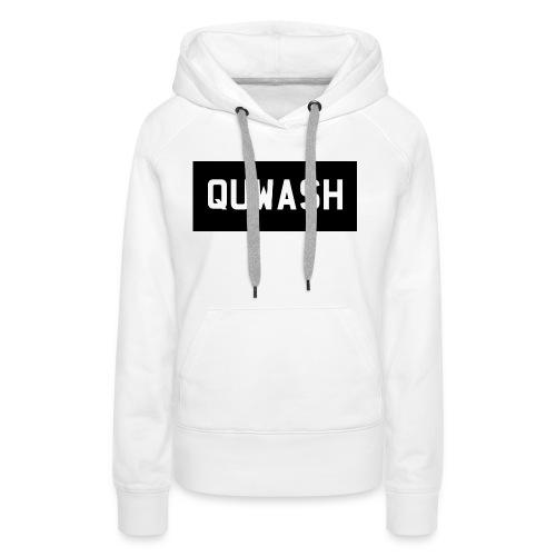 QUWASH - Vrouwen Premium hoodie