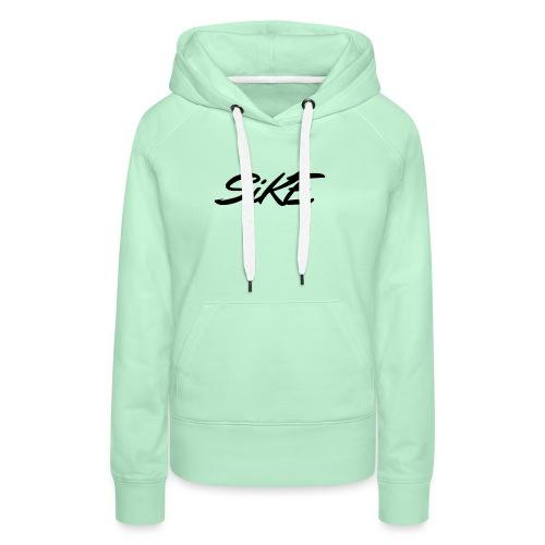 SIKE - Sweat-shirt à capuche Premium pour femmes