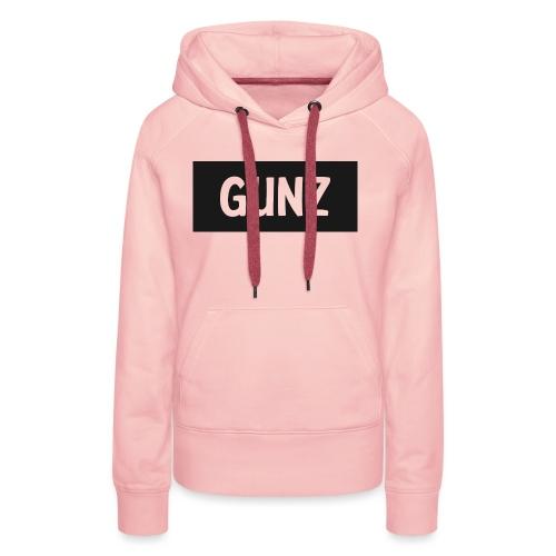 Gunz - Dame Premium hættetrøje