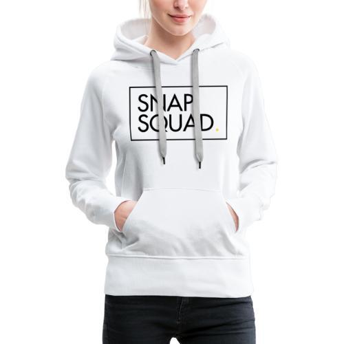SNAPSQUAD Gear - Black Logo - Women's Premium Hoodie