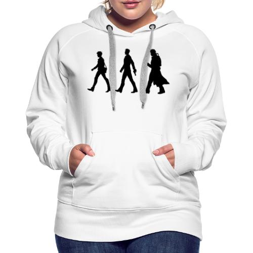Black Title and Character design - Women's Premium Hoodie