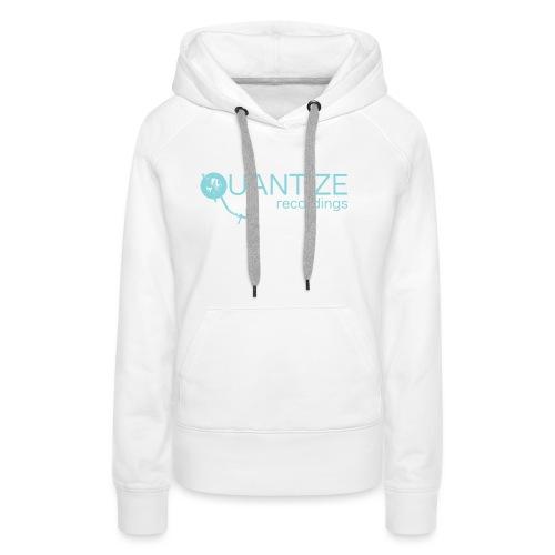 Quantize Blue Logo - Women's Premium Hoodie