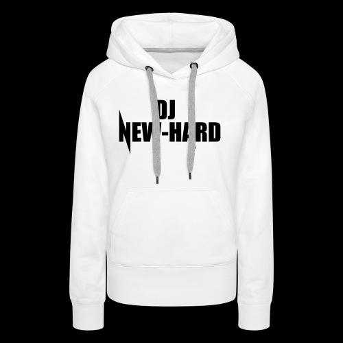 DJ NEW-HARD LOGO - Vrouwen Premium hoodie