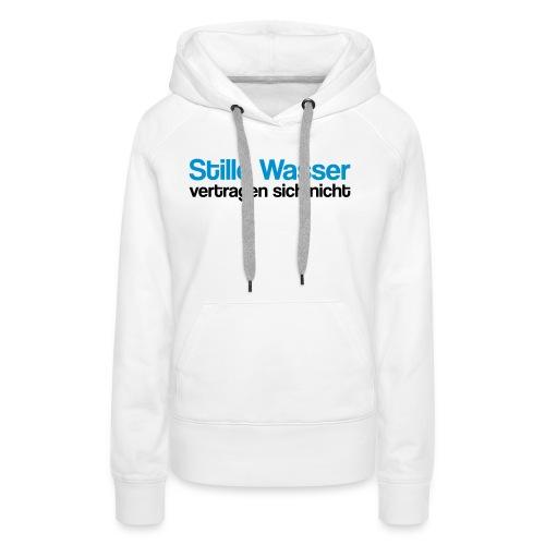 Stille Wasser - Frauen Premium Hoodie