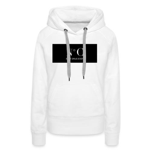 NUMERO C BEST DRUG EVER - Sweat-shirt à capuche Premium pour femmes