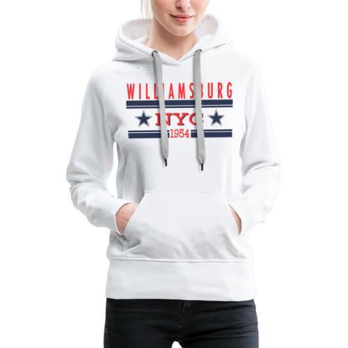 Williamsburg Hipster - Frauen Premium Hoodie