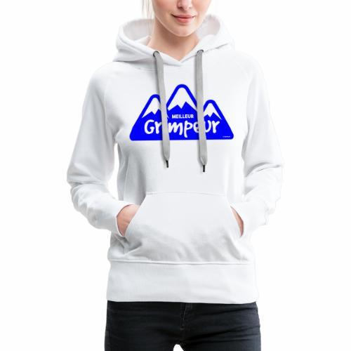 Klimmer - Vrouwen Premium hoodie