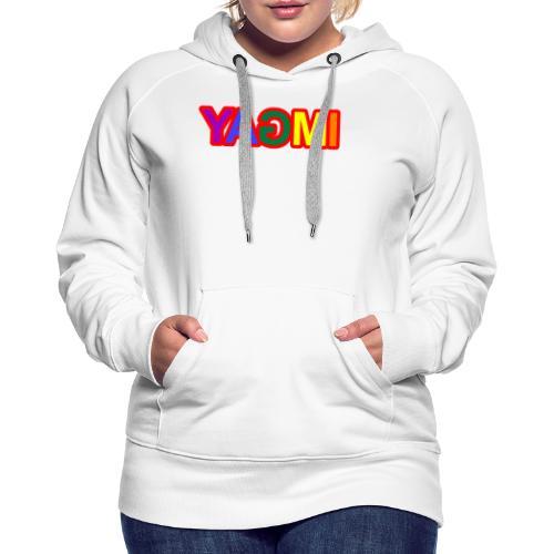 Yagmi Multicolore - Sweat-shirt à capuche Premium pour femmes