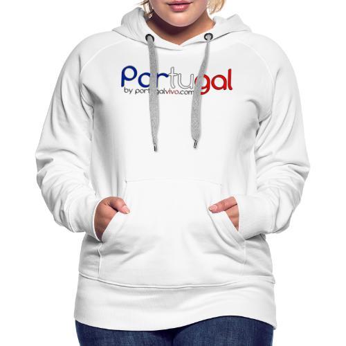 Portugal Color France - Sweat-shirt à capuche Premium pour femmes
