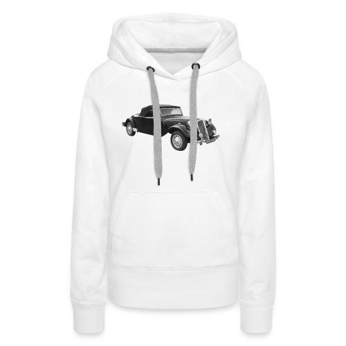 traction - Sweat-shirt à capuche Premium pour femmes