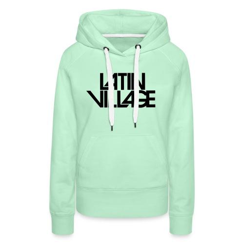 Logo Latin Village 30 - Vrouwen Premium hoodie