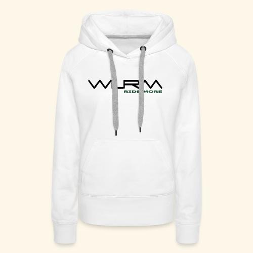 WLRM Schriftzug black png - Frauen Premium Hoodie