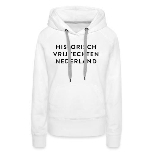 HVN_tekst - Vrouwen Premium hoodie
