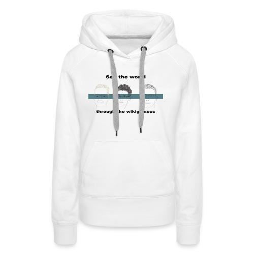 301272013 1007741216 dp 3wg tr orig - Sweat-shirt à capuche Premium pour femmes