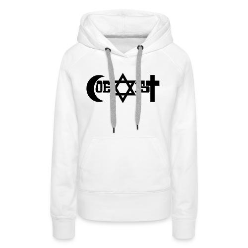 coexist - Frauen Premium Hoodie