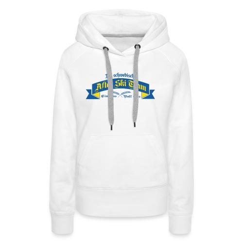 Apré Ski Team Sweden - Premiumluvtröja dam
