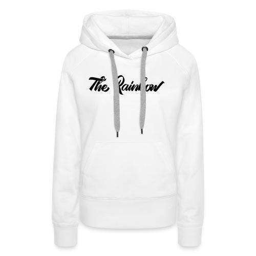 THE RAINBOW Tshirt - Sweat-shirt à capuche Premium pour femmes