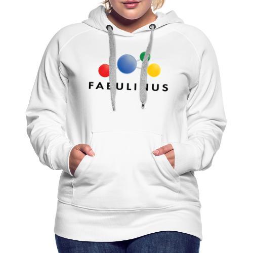Fabulinus logo enkelzijdig - Vrouwen Premium hoodie