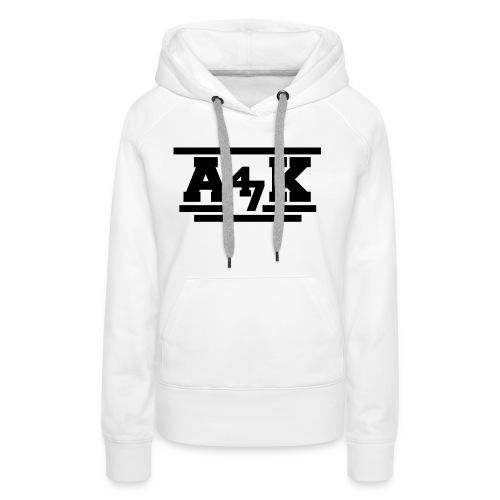 - A _K - - Women's Premium Hoodie