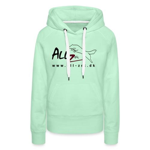 All Zet Logo - Dame Premium hættetrøje