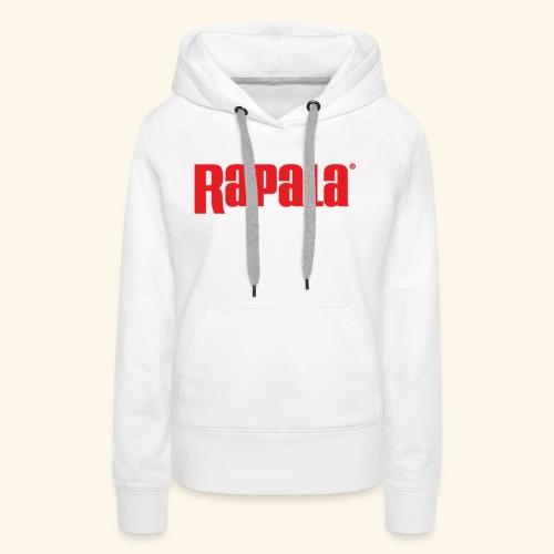 LP 050615a Rapala Logo - Sweat-shirt à capuche Premium pour femmes