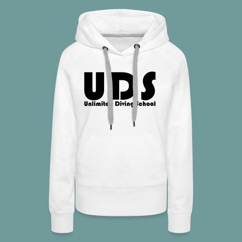 uds_01 - Sweat-shirt à capuche Premium pour femmes