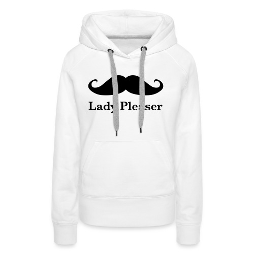 Lady Pleaser T-Shirt in Green - Women's Premium Hoodie
