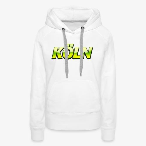 Green Hills Groß Köln - Frauen Premium Hoodie
