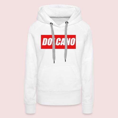 DOLCANO Box Logo Short Sleeved T-Shirt. - Women's Premium Hoodie