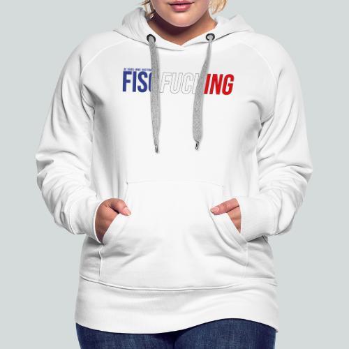 Je suis une victime du FISCfucking... - Sweat-shirt à capuche Premium pour femmes