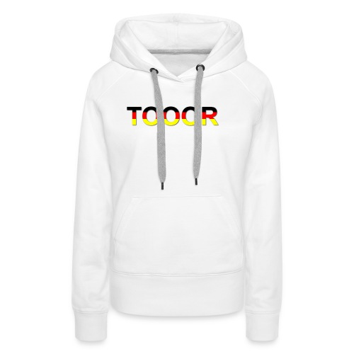 TOOOR-Schatten-transparen - Frauen Premium Hoodie