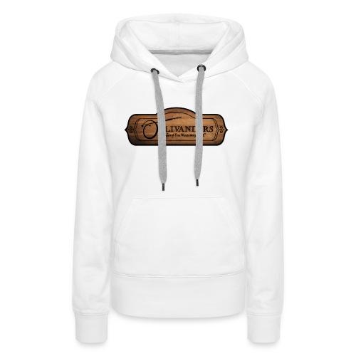 ollivanders sign - Sweat-shirt à capuche Premium pour femmes