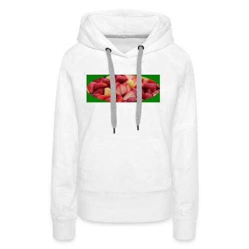 aardbei_1-JPG - Vrouwen Premium hoodie