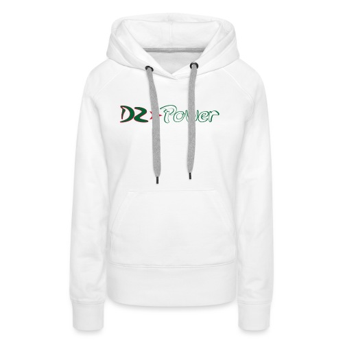 DZ Power - Sweat-shirt à capuche Premium pour femmes
